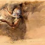 Peintre rupestre par B.Clarys